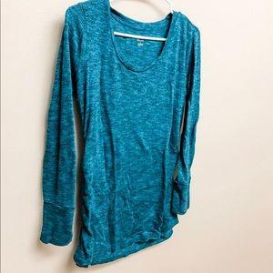 Liz Lange Maternity Teal Sweater